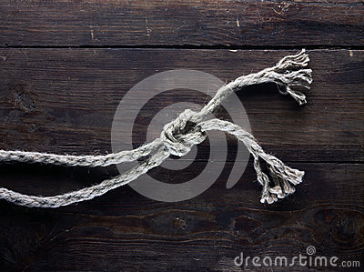 Ropes with knot