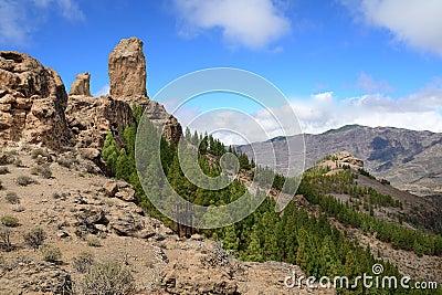 Roque Nublo peak