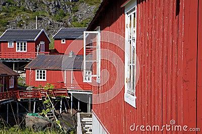 Rorbu huts