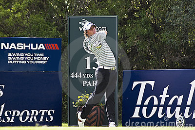 Rory McIlroy - 13th Tee Editorial Stock Image