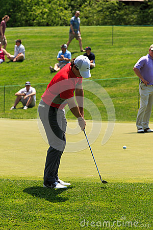 Rory McIlroy at the Memorial Editorial Photography