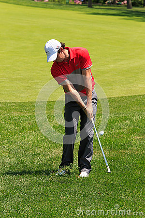 Rory McIlroy at the Memorial Editorial Stock Photo