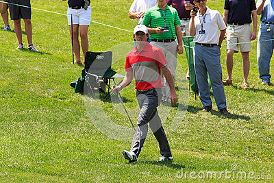 Rory McIlroy at the Memorial Editorial Stock Image