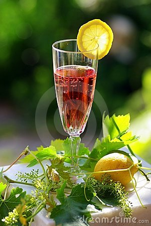 Free Rosé Wine Royalty Free Stock Photo - 2494935