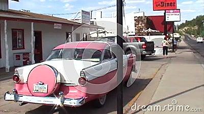 Rosa histórico Cadillac vídeos de arquivo