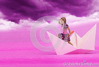 Rosafarbene Träume