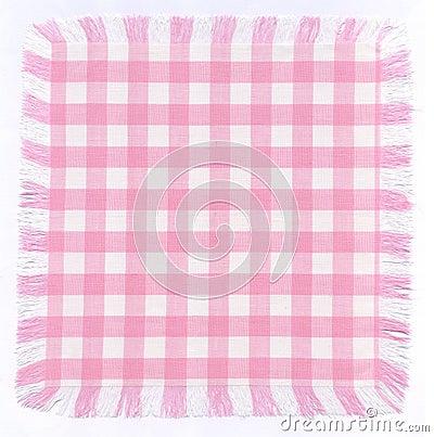 Rosafarbenes checkered