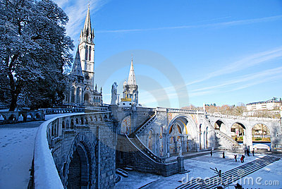 The Rosary Basilica of Lourdes