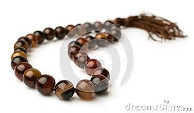 Rosary of carnelian