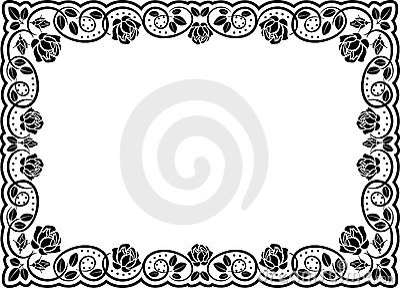 Rosas do frame