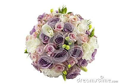 Rosas que se casan el ramo