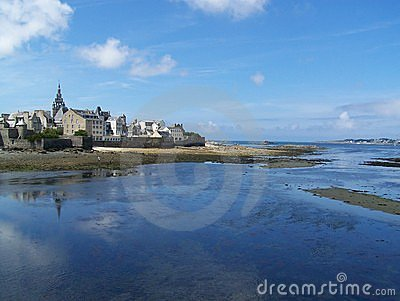 Roscoff bay, Brittany, France