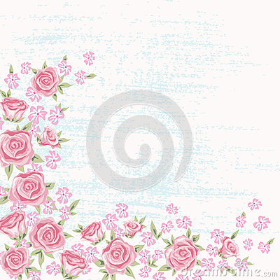 Rose background 5