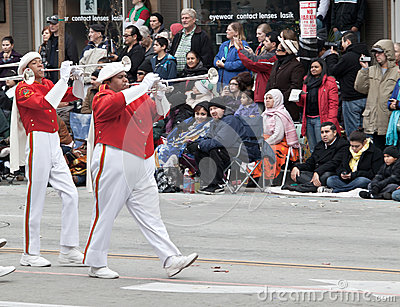 Rose Bowl Parade 2013 Editorial Photo