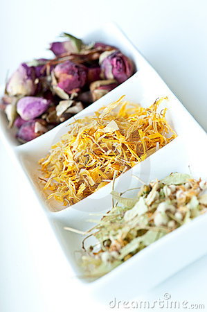 Rose, Calendula and Linden herb potpourri