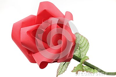 Rose Flower origami Paper Craft