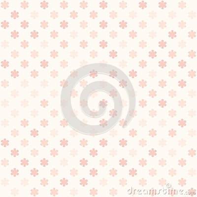 Rose flower pattern. Seamless vector Vector Illustration