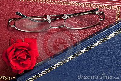 Rose and Glasses