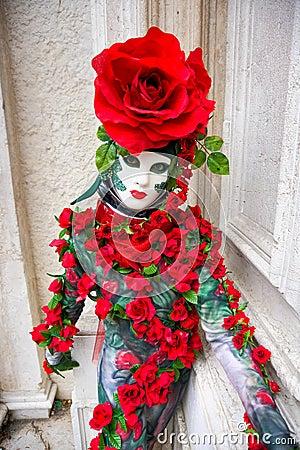 Rose Mask, Carnival.
