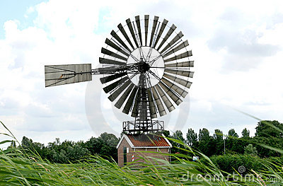 Rose mill de Hercules in the Netherlands