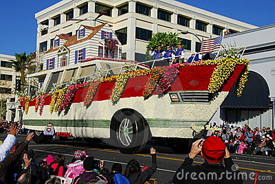 Rose Parade Pasadena 2011 Editorial Stock Image