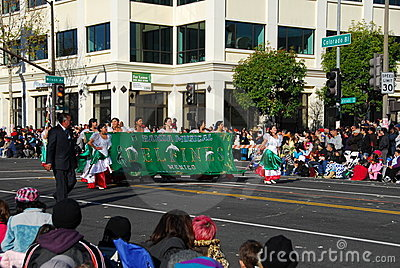 Rose Parade Pasadena 2011 Editorial Photo