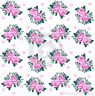 rose pattern seamless