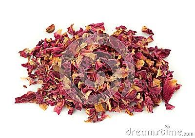 Rose peta tea