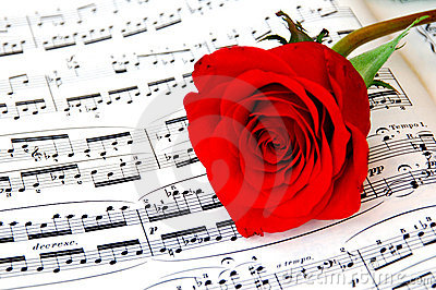 Rose and piano music 2