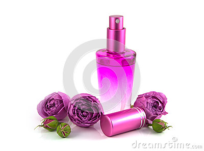 Rose water fragrance