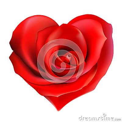 Free Rose_heart Stock Photo - 4059360