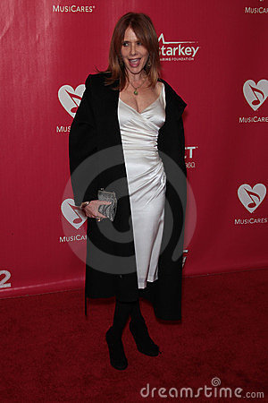 Roseanna Arquette at the 2012 MusiCares Person Of The Year honoring Paul McCartney, Los Angeles Convention Center, Los Angeles, CA Editorial Photography