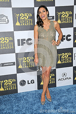 Roseario Dawson at the 25th Film Independent Spirit Awards, Nokia Theatre L.A. Live, Los Angeles, CA. 03-06-10 Editorial Image