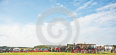 Roseisle steam Traction Engine Rally  ! Editorial Image