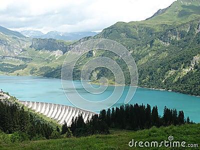 Roselend Dam httpsthumbsdreamstimecomxroselenddam28695