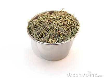 Rosemary in Ramekin