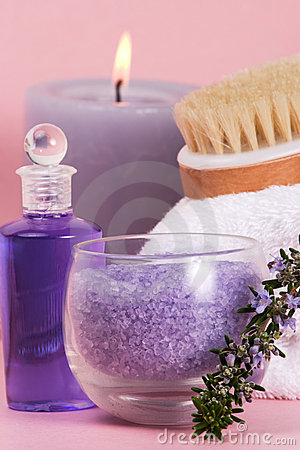 Rosemary spa set