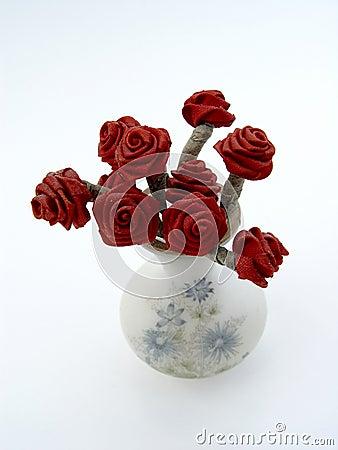 Rosen in einem Vase