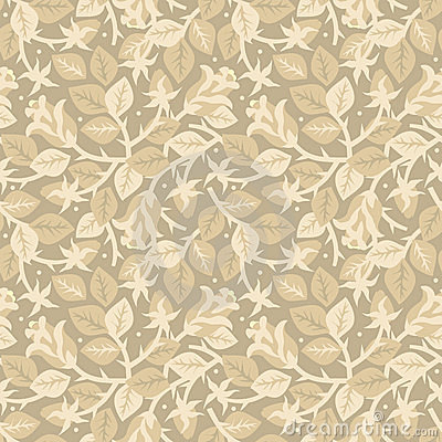 Roses in bloom floral seamless pattern