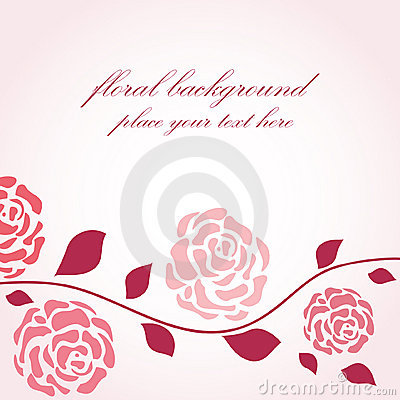 Free Roses Branch Royalty Free Stock Images - 15830369