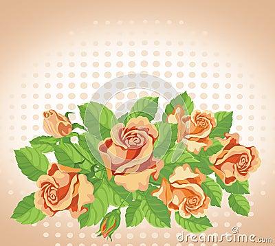 Roses card fine