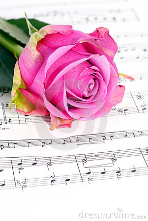 Roses and music.