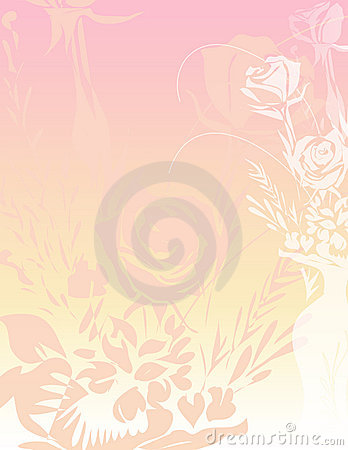 Roses Paper Background