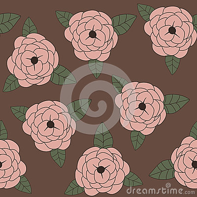 Roses. Seamless