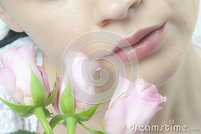 Roses skin
