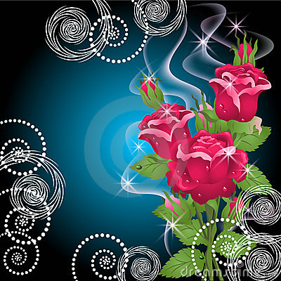 Roses, smoke and stars
