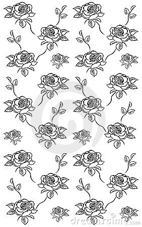 Roses texture