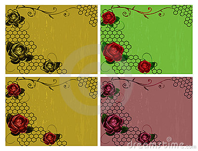 Roses vintage backgrounds