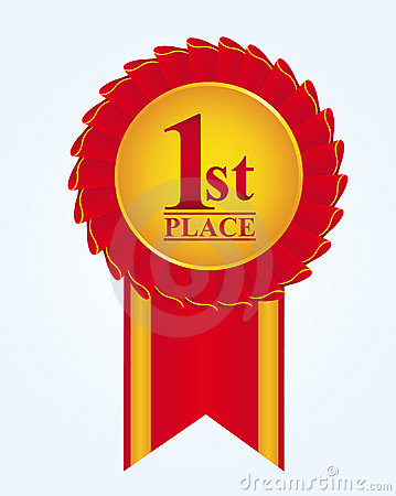 Rosette first place