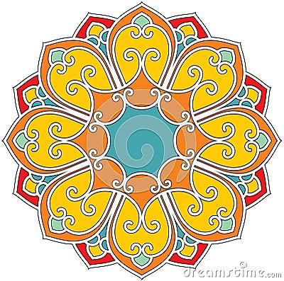 Rosette Flower Composition